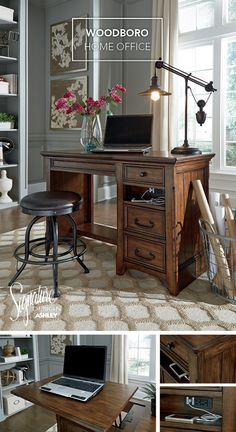 woodboro home office lift top desk ashley furniture home office desks