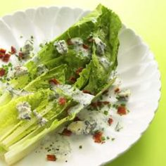 Healthy Salad Recipes and Cooking Tips | Eating Well      The Wedge    Forget iceberg; the traditional Wedge salad is better with Romaine lettuce and a healthier ranch-style dressing.