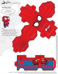 Spider-Man Cubeecraft