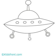 NASA Spaceship Printable Coloring Pages for kids boys and girls