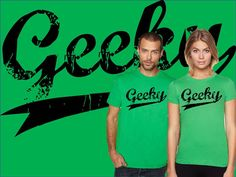 Awesome Distressed Geeky T Shirt | Geekery