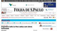 Medio: Folha de Paulo http://www1.folha.uol.com.br/ilustrada/2013/10/1350702-argentino-julio-le-parc-seduz-com-obras-luminosas.shtml