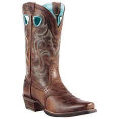 10010936 Women's Rawhide Western Ariat Boots from Bootbay, Internet's Best Selection of Work, Outdoor, Western Boots and Shoes.