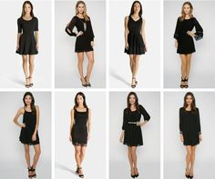 Turn heads and win hearts in a ‪#‎LittleBlackDress‬. Here are 4 ways to elevate your ‪#‎LBD‬ with a fresh makeover.