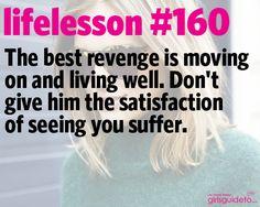 Little Life Lesson #160: Revenge | GirlsGuideTo