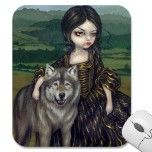 """Loup-Garou: Pastorale"" Mousepad by strangeling  Jasmine Becket-Griffith"
