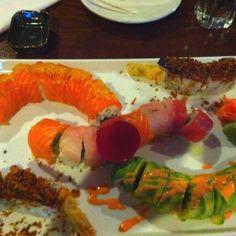 Sushi is amazing!