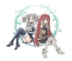 Fire Emblem Awakening - Cynthia and Severa