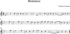 Romance. Canción Infantil Catalana