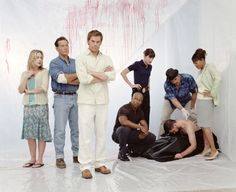 Dexter TV Series - Characters   dexter equipe2