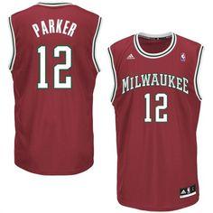 Jabari Parker Milwaukee Bucks adidas NBA Jersey #bucks #milwaukee #nba