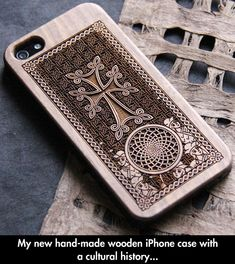 Beautiful Wooden iPhone Case