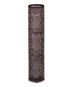 Look at this 33'' Cylindrical Floor Lantern on #zulily today!