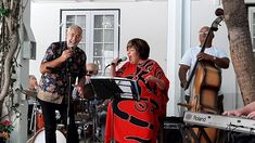 Glenn Robertson and Erika Lundi with The Winchester mansions Trio at The Jazz Brunch The Glenn, Jazz Band, Erika, Winchester, Musicians, Trust, Brunch, African, Mansions
