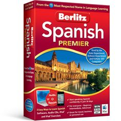 Berlitz Spanish Language Software. #WaterpikgiftsforGrads