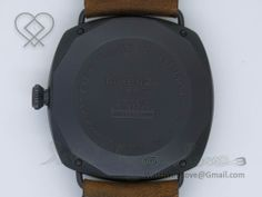 PVD plated solid 316L stainless steel case