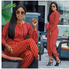 Items similar to African Print/ Ankara Jumpsuit/ African Clothing/ Ankara Print on Etsy African Print Jumpsuit, Ankara Jumpsuit, African Print Dresses, African Wear, African Attire, African Fashion Dresses, African Women, African Dress, African Clothes