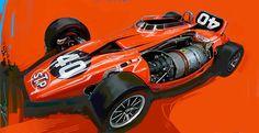 Indy Car Collection | John Krsteski