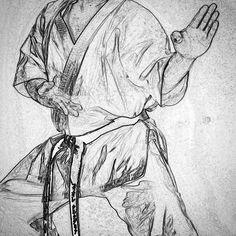 #zeichnung #drawing #karate #karatedo #shotokan #dojo #dan #meistergrad #budoka #schwarzgurt #kuroobi #blackbelt #zuki #faust http://ift.tt/1NFeDkK www.taikikan.de