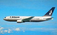 Britannia Airways Boeing 767.