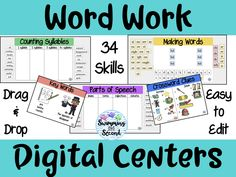 Word Work Digital Ce