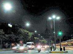 Renuevan la iluminación en calles y parques con tecnología LED