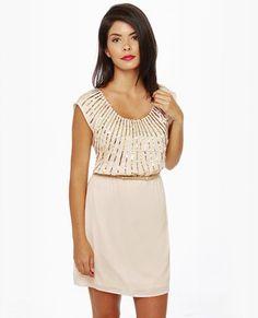 b5ad7e5a4964 On Reflection Cream Sequin Dress Classy Chic, Classy Dress, Eat Sleep Wear,  Engagement