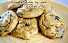 something brought you here: Ridiculously Moist Pumpkin Chocolate Chip Cookies