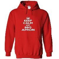 Keep calm and bbq apron