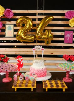 73 creative and cheap ideas - Birthday FM : Home of Birtday Inspirations, Wishes, DIY, Music & Ideas 24th Birthday, Barbie Birthday, Birthday Wishes, Birthday Parties, Happy Birthday, Flamingo Birthday, Flamingo Party, Anniversary Decorations, Anniversary Parties