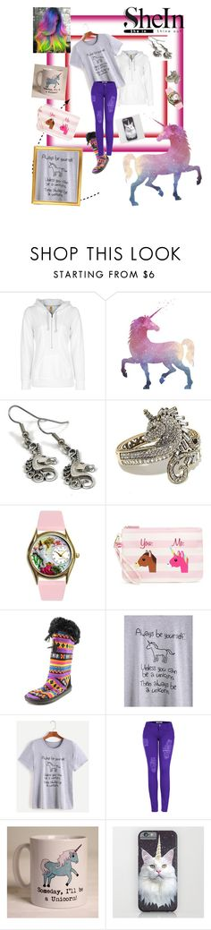"""Untitled #67"" by kristina-sandvig ❤ liked on Polyvore featuring Lucy, Heidi Daus, Betsey Johnson, Muk Luks, 2LUV and Claire Close"