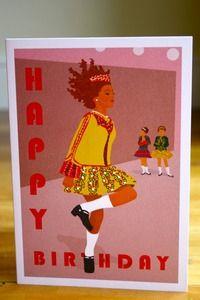 Image of Dancer Birthday - Greeting Card