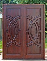 Wooden Double Doors, Wooden Front Door Design, Main Entrance Door Design, Double Door Design, Double Front Doors, Wood Front Doors, Wooden Doors, Main Door, Double Doors Exterior