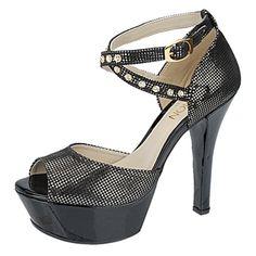 Sandália Feminina Meia Pata Chumbo Belmon - 17-06 - 33 a 43 - Sapatos Femininos, Sandálias, Peep Toes, Calçados em Numeração Especial - Sapa...