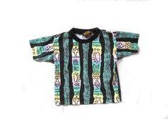 vintage 1990s shirt children boy cactus sun by diaphanousvintage