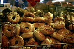 021313bagels.jpg  Dearly departed H bagels. They still have a factory but just look at these babies