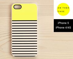 0040. iPhone case - Sunny Yellow