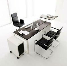 SolusiProperti : Desain Meja Kantor Modern Kontemporer Oleh Huelsta