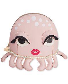 Betsey Johnson Octopus Cosmetics Case - Betsey Johnson - Handbags & Accessories - Macy's