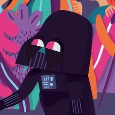 Detalle Darth Vader