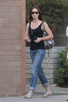emily blunt. casual.