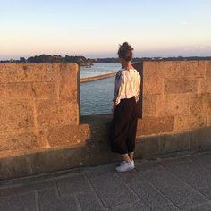 Ce matin on a comme une envie de voir la mer. #summer #happymonday  Chemise Costeri portée par pop_colada #regram #nosclientessontlesmeilleures