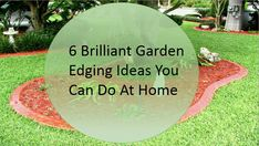 6 Brilliant ideas for garden edging that you can do at your home. Read this blog for more info. #gardening #gardenedging