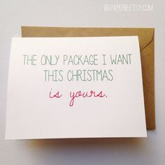 11 Holiday Cards For Couples That Are More Naughty Than Nice
