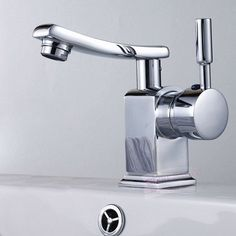 $47 Modern Chrome Brass Swivel Bathroom Faucet Basin Tap Vanity Mixer A161
