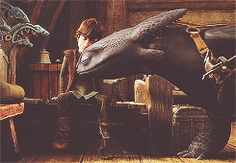 This is one of the reasons why I love How To Train Your Dragon. The dragmance runs deep