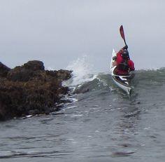 Impact zone survival in Tiderace Xcite Canoe And Kayak, Kayak Fishing, Sea Kayak, Kayaking Gear, Canoeing, Water Surfing, Kayak Accessories, Extreme Sports, Rowing