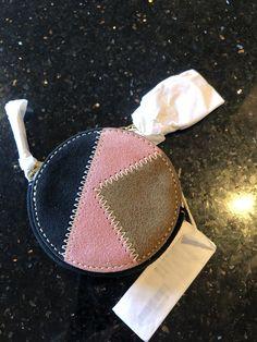 Orla Kiely Suede Keyring, coin zip purse #orlakiely Circle Purse, Orla Kiely, Bag Accessories, Straw Bag, Zip, Purses, Handbags, Purse, Bags