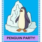 penguin party, kid