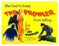 The Prowler 1951 Lobby Card Van Heflin Evelyn Keyes 5 Movie Poster Frames, Film Posters, Classic Movie Posters, Classic Films, Iconic Movies, Old Movies, Van Heflin, Bogart And Bacall, Old Hollywood